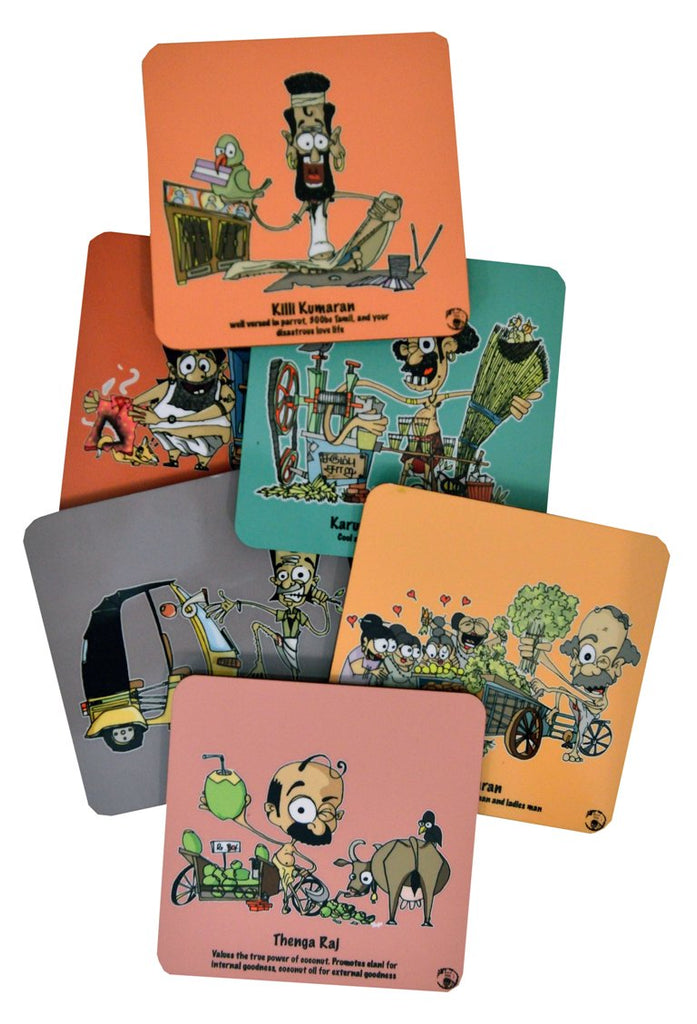 Chennai series coaster set