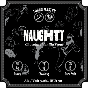 Naughty Stout 330mL 24 Can Case