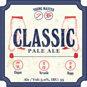 24 Classic Pale Ale 330ml Bottle Case - Young Master Brewery