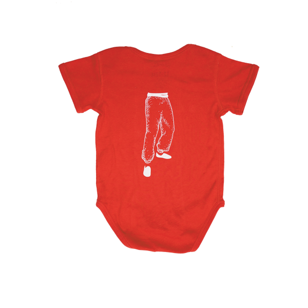 Young Master Red Onesie - Infant - Young Master Brewery