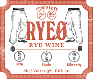 RyeØ 750mL Bottle - Young Master Brewery