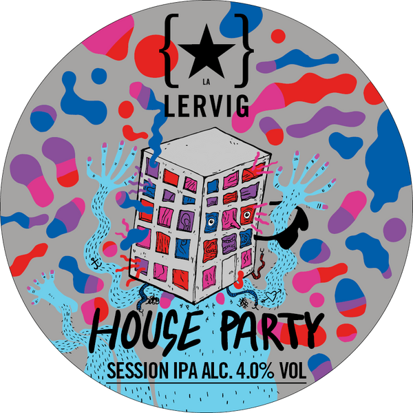 Lervig House Party 330mL 24 Can Case