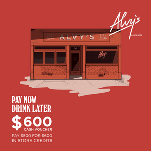 Alvy's Cash Coupon