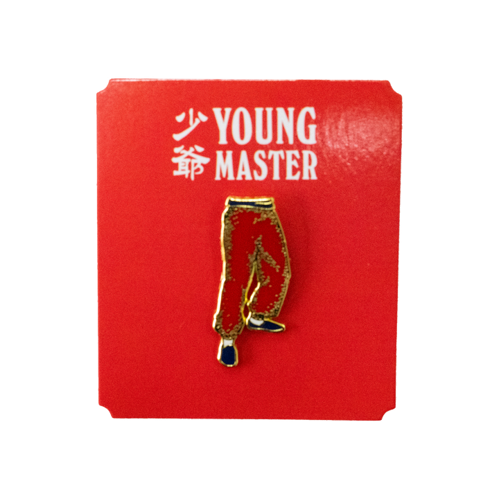 Young Master Pants Pin - Young Master Brewery