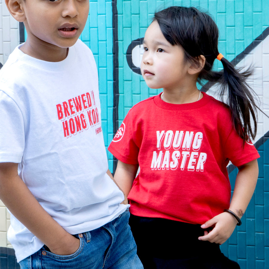 Young Master Red Tee - Toddlers - Young Master Brewery