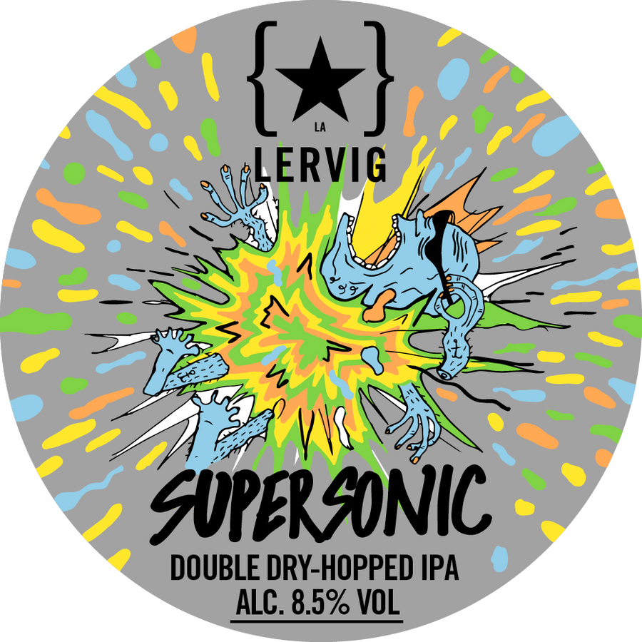 Lervig Supersonic 4 Cans Pack