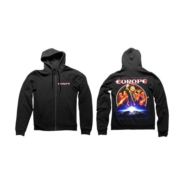FINAL COUNTDOWN 30TH ANNIVERSARY HOODY