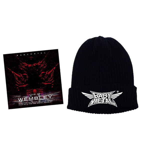 BABYMETAL LIVE AT WEMBLEY CD + BEANIE Bundle