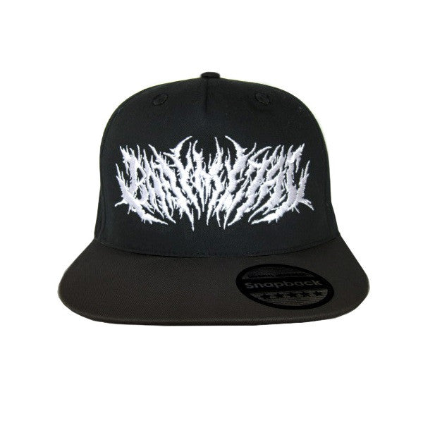 EMBROIDERED LOGO SNAPBACK CAP