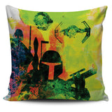 Star Wars Watercolor Pillows
