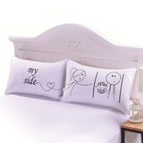 **SALE** Couple Premium Quality Pillowcases (Set of 2)