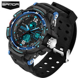 Rugged Men's G Style Sports Digital Watch Waterproof Military Watches