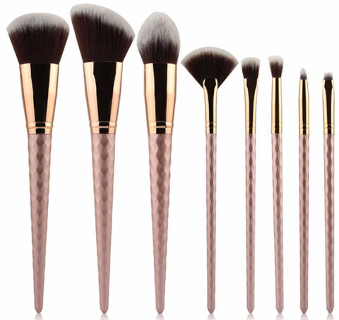 Rose Diamond Brush Set