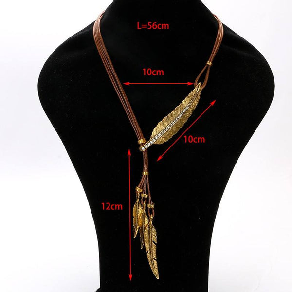 Collier Plume d'Ange