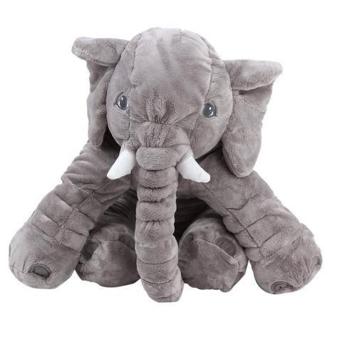 l phant en peluche g ant de 60cm la chouette boutique. Black Bedroom Furniture Sets. Home Design Ideas