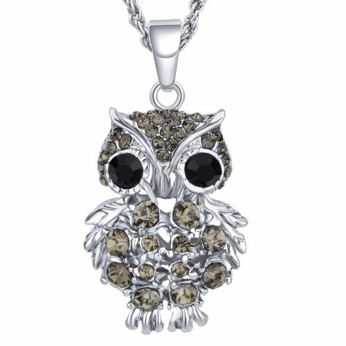 Collier Pendent - Collier - Pendentif Chouette Deluxe