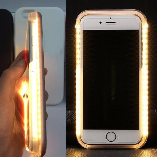 Étui LED pour Selfies - iPhone et Android