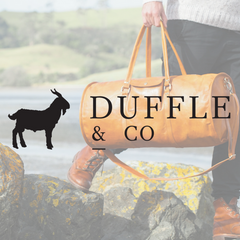 Duffle and Co Ethical Product collection