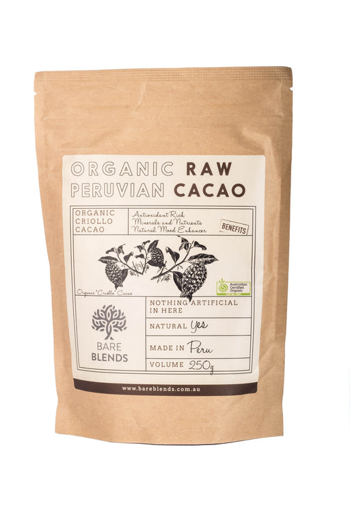 Organic Raw Peruvian Cacao Powder