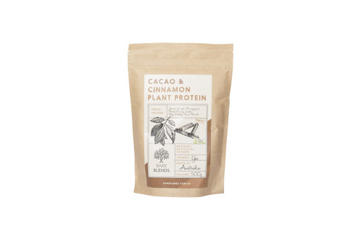 Cacao and Cinnamon Plant Protein