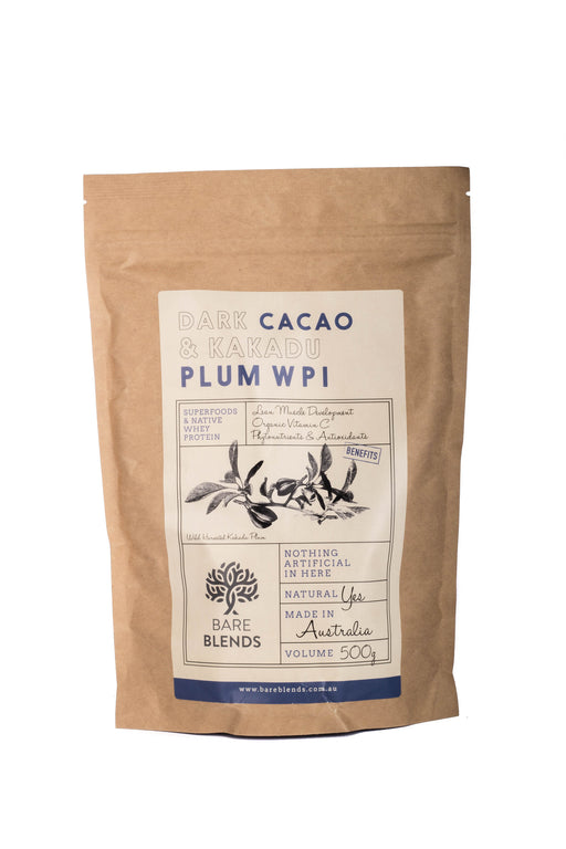 Dark Cacao and Kakadu Plum Native Whey Protein Isolate