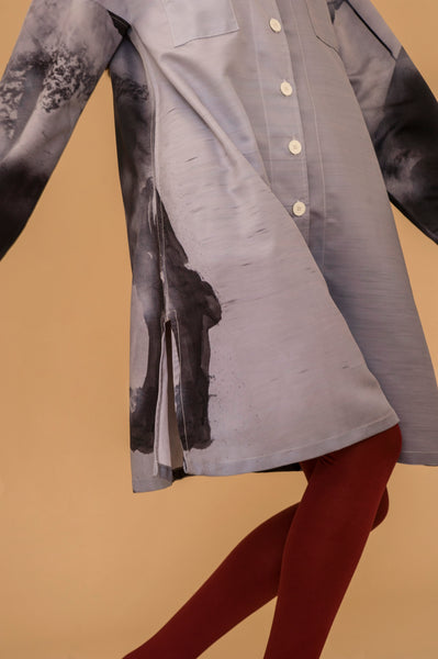 Faded Shirt Dress x Sally Bourke