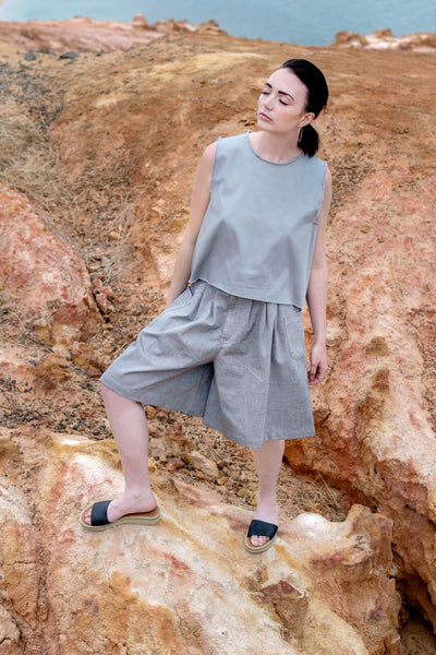 LIKA TOP - Grey