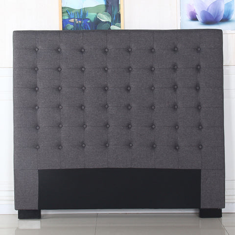 Cilantro King Charcoal Headboard - OZZIEBARGAINS