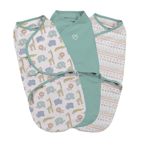Original Swaddle Small - Sketchy Safari - 3PK