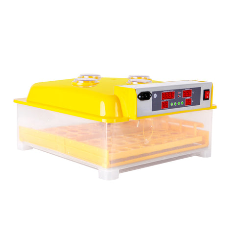 Automatic 48 Egg Incubator Yellow