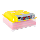 Automatic 60 Egg Incubator Yellow - OZZIEBARGAINS