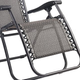 Zero Gravity Recliner Light Grey - OZZIEBARGAINS