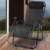Zero Gravity Recliner Black - OZZIEBARGAINS