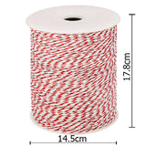 500m Roll Electric Fence Energiser Poly Wire - OZZIEBARGAINS