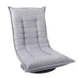 Swivel Foldable Floor Chair - Grey