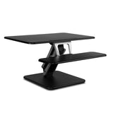 Height Adjustable Standing Desk 80CM - Black - OZZIEBARGAINS