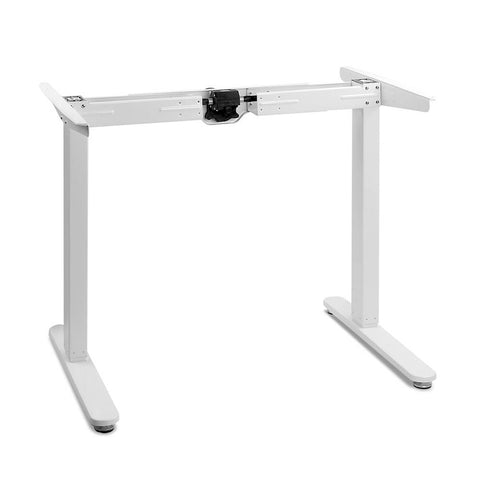 Motorised Height Adjustable Desk Frame White