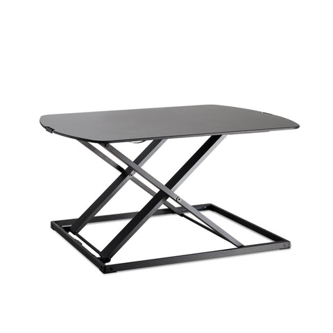Height Adjustable Standing Desk - Black - OZZIEBARGAINS