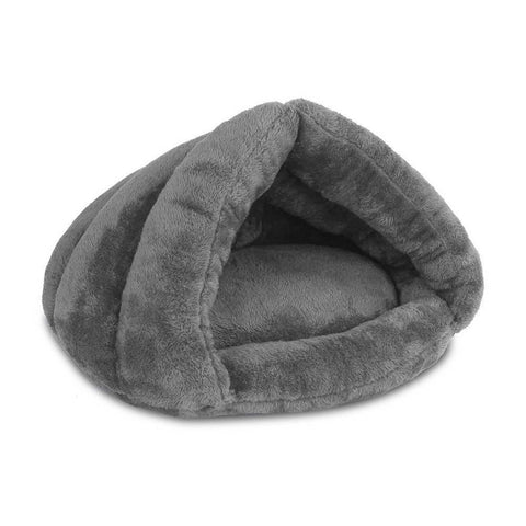Cave Style Pet Bed Grey - OZZIEBARGAINS