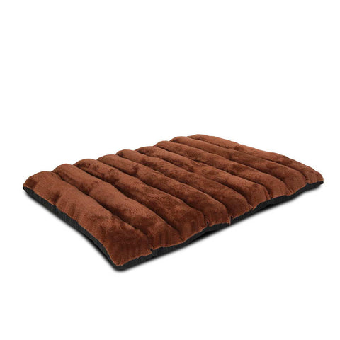 Roll-Up Portable Pet Travel Bed – Brown