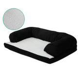 Medium Fleece Pet Bed - Black