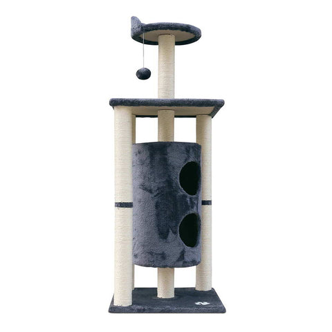 Cat Scratch Tree 123CM Grey - OZZIEBARGAINS