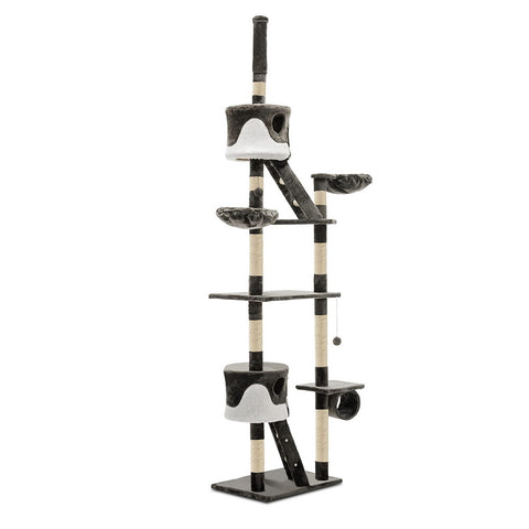 Cat Tree 260cm Grey - OZZIEBARGAINS