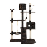Cat Scratching Poles Post Furniture Tree 170cm Grey