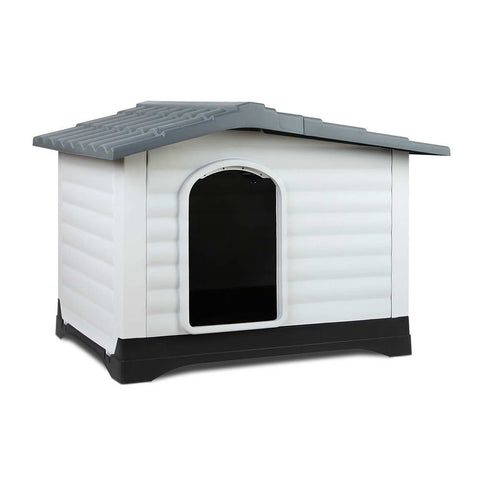 Extra Extra Large Pet Kennel - Grey - OZZIEBARGAINS