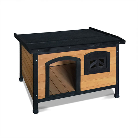 Large Pet Dog Kennel - Black