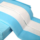 200 Puppy Training Pads Blue - OZZIEBARGAINS