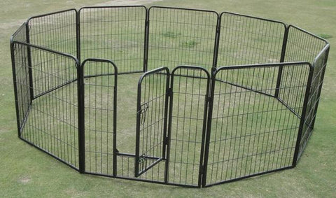10 x 1200 Tall Panel Pet Exercise Pen Enclosure - OZZIEBARGAINS