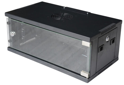 4RU 300MM Comms Data Rack Cabinet - OZZIEBARGAINS