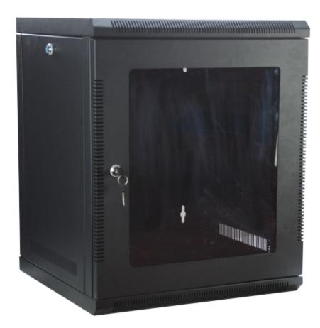 12U 12RU 19Inch Server Network Data Rack Wall Mount Cabinet 500mm Deep - OZZIEBARGAINS